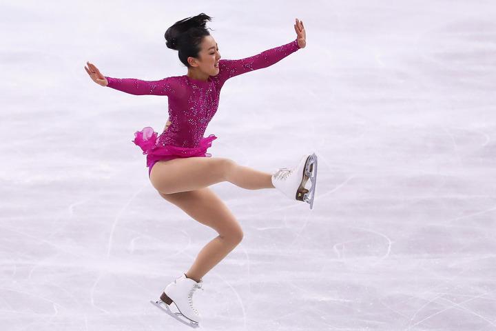 神奈川公演に向けてインスタグラムを更新した浅田真央さん。(C)Getty Images