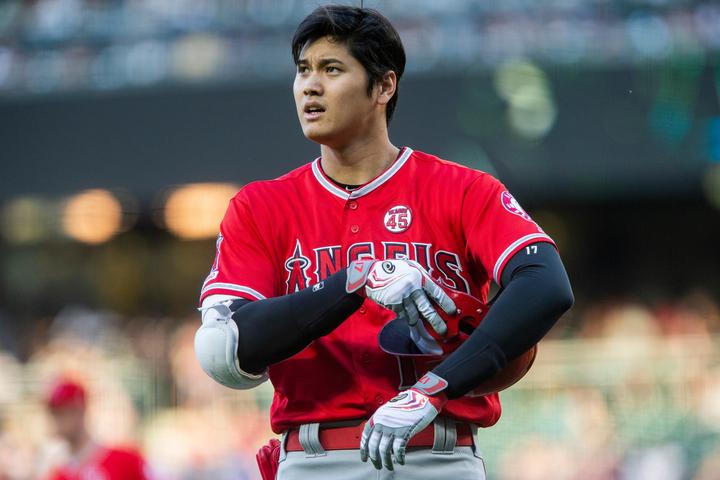 MLBネットワークが現役選手トップ100のランク付けを発表。大谷は57位にランクインした。(C)Getty Images