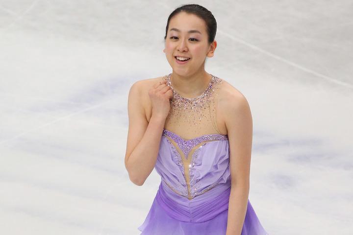素敵なワンピ姿をSNSに公開した浅田さん。(C)Getty Images