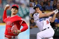 前田(右)が大谷(左)から本塁打を打てば椿事達成となるが…。(C)Getty Images