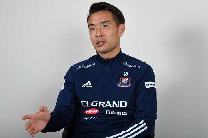 水沼は、9年半ぶりの古巣・横浜への復帰を果たした。写真:徳原隆元