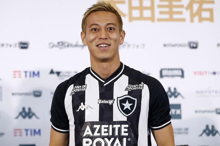2月11日にはチームの全体練習に合流している本田圭佑。いよいよ待望のデビューとなるか。(C) Getty Images