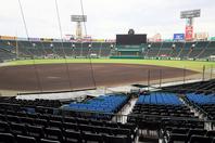 新型コロナウイルスの感染拡大を受け、センバツ高校野球は史上初の無観客で開催する方針を発表した。写真:朝日新聞社