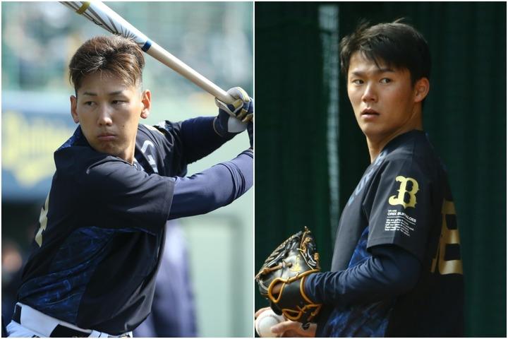 吉田正(左)、山本(右)と若手の主力が続々に年俸アップを遂げている。写真:金子拓弥(THE DIGEST写真部)