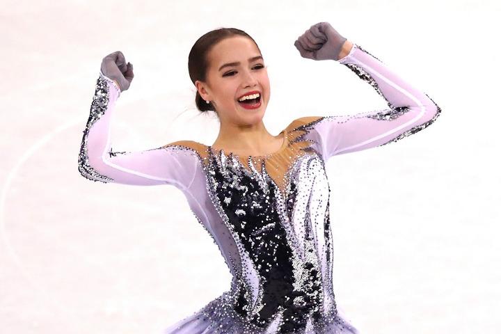 フィギュアスケート平昌五輪金メダリストのザギトワがPUMAの新コレクションを公開した。(C)Getty Images
