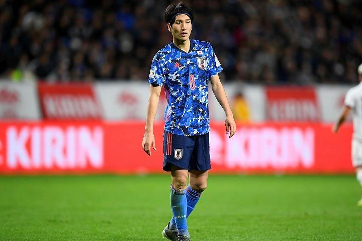 2019年も日本代表で13試合に出場している原口元気。写真:金子拓弥(サッカーダイジェスト写真部)