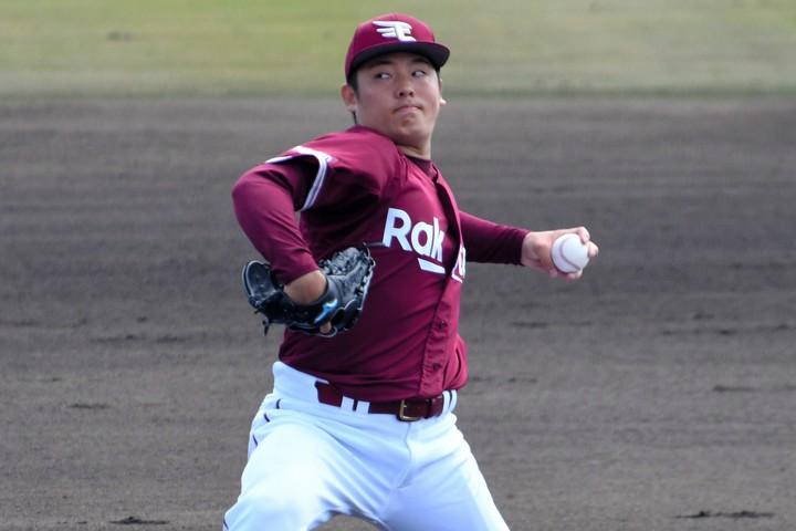 松井の先発転向がどう出るのかで、楽天の順位は変わってきそうだ。写真:朝日新聞社