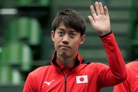 錦織圭がメッセージ動画を公開し、新型コロナウイルスの影響で延期となった東京オリンピックについて言及した。(C)Getty Images