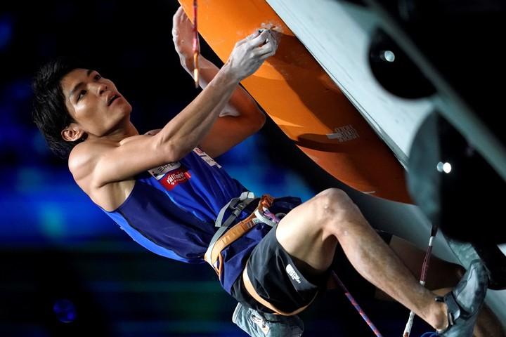 異例の五輪延期にスポーツクライミング・楢﨑が自身のインスタグラムにコメントを投稿した。(C)Getty Images