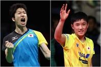 日本卓球界を牽引する水谷と張本が東京五輪延期を受けコメントを発表(C)Getty Images