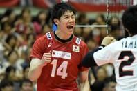 バレーボール日本代表の石川祐希が、東京五輪の延期を受け、その想いをインスタグラムで披露。(C)Getty Images