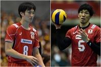 バレーボール日本代表の2人がLIVE配信を行ない、ファンと共に盛り上がりをみせた。(C)Getty Images
