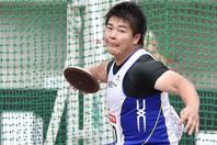 円盤投げ堤雄司が日本新記録を樹立したことを、自身のSNSで報告。(C)Getty Images