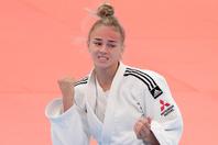 19歳にして柔道女子48キロ級の頂点に君臨するビロディド。今回は自宅で撮影されたトレーニングの様子を公開した。(C)Getty Images