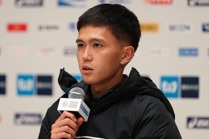 今月1日に行なわれた東京マラソンでは日本記録を更新し東京五輪を内定させた大迫。(C)Getty Images