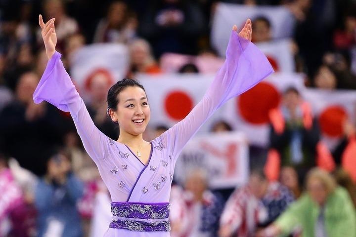 最近はテレビ番組の出演も多く、精力的な活動を続けている浅田真央さん。(C)Getty Images