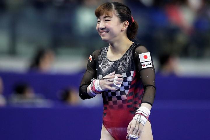 体操日本代表の寺本明日香が自身のインスタグラムに術後の経過を報告した。(C)Getty Images