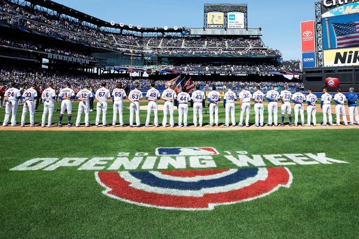 """現実の開幕はまだ先だが、ゲームでは全30球団の""""熱い""""戦いの幕が切って落とされる。(C)Getty Images"""