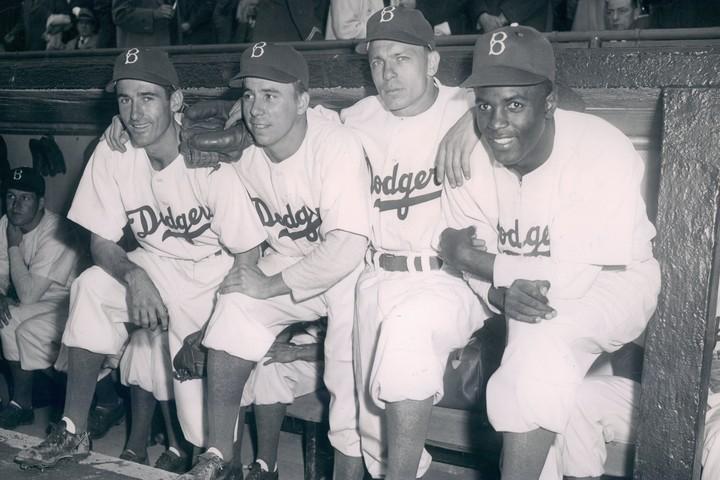 人種の壁を打ち破ったロビンソンのデビューはMLB史で最も重要な出来事の一つに数えられる。(C)Getty Images