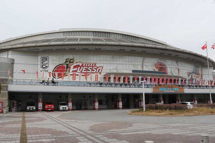 大阪エヴェッサは、新たにチーム関係者1名がコロナ「陽性」反応と発表した。(C)B.LEAGUE