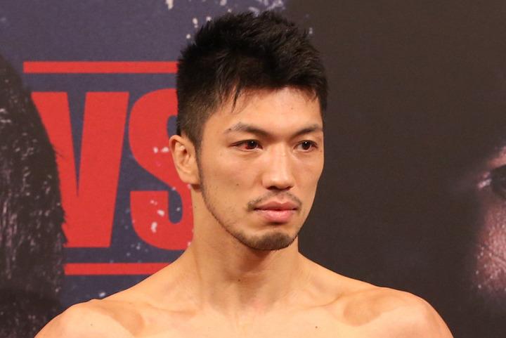 現WBAミドル級世界王者の村田が、自身の幼少期ショットをインスタグラムに公開した。(C)Getty Images