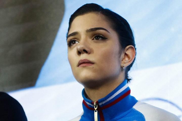 平昌五輪銀メダリストのメドベージェワ。今年6月に予定されていたアイスショーの延期を受け、「必ず戻ってきます」と前向きにコメントした。(C)Getty Images