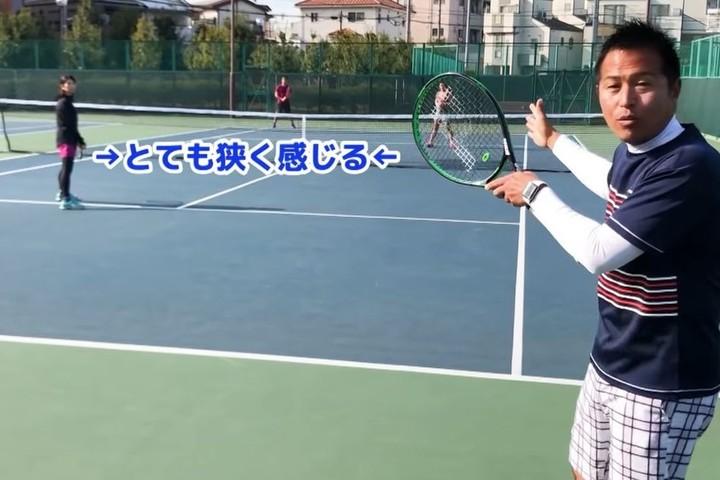 リターンをポーチされても拾えばいい! 考え方を学ぼう。写真:田中研治