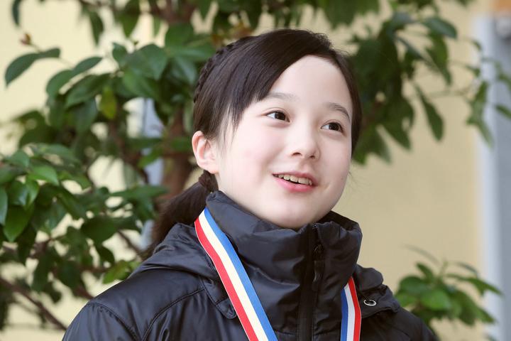 中学入学を機にインスタグラムを開始した本田紗来。写真:朝日新聞社/日刊スポーツ
