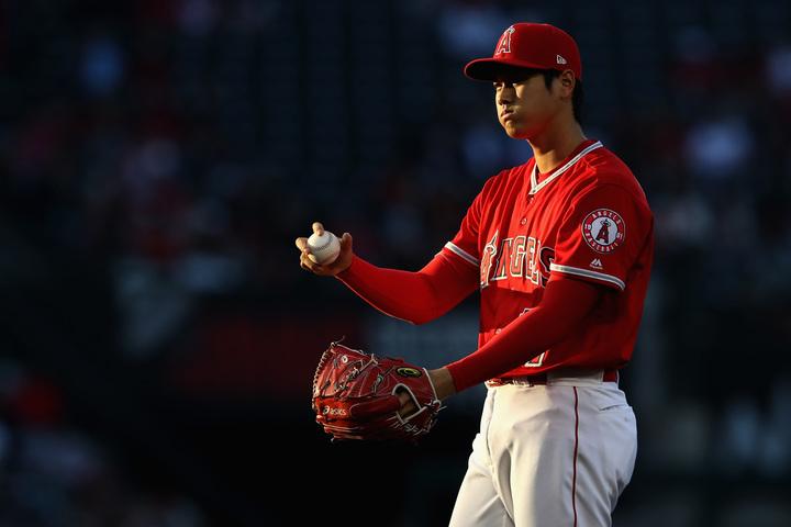 開幕が延期になったことは投手・大谷にとっては有利に働くかもしれない。(C)Getty Images
