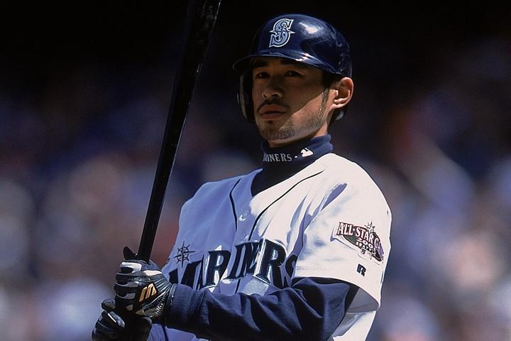 新人王&MVPを同時受賞したイチローは2000年以降の新人王4位にランクイン。(C)Getty Images