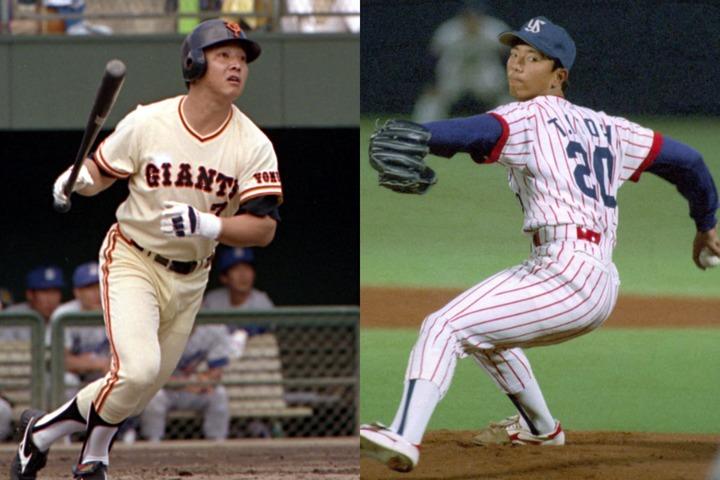 吉村(左)は90年、伊藤(右)は97年にそれぞれカムバック賞受賞と一度は再起。だが、それでも潜在能力をフルに発揮したとは言い難い。写真:産経新聞社(吉村)、朝日新聞社(伊藤)