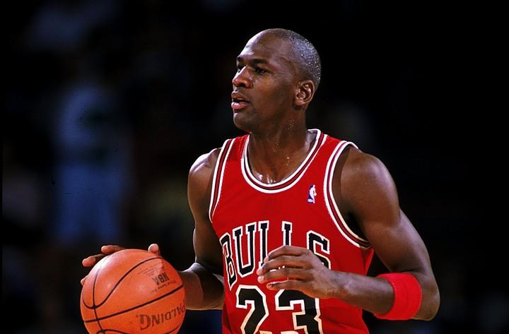 90年代に6回のリーグ優勝を果たしたシカゴ・ブルズ。そのドキュメンタリーシリーズ『ラストダンス』の放送で、再びジョーダンに注目が集まっている。(C)Getty Images