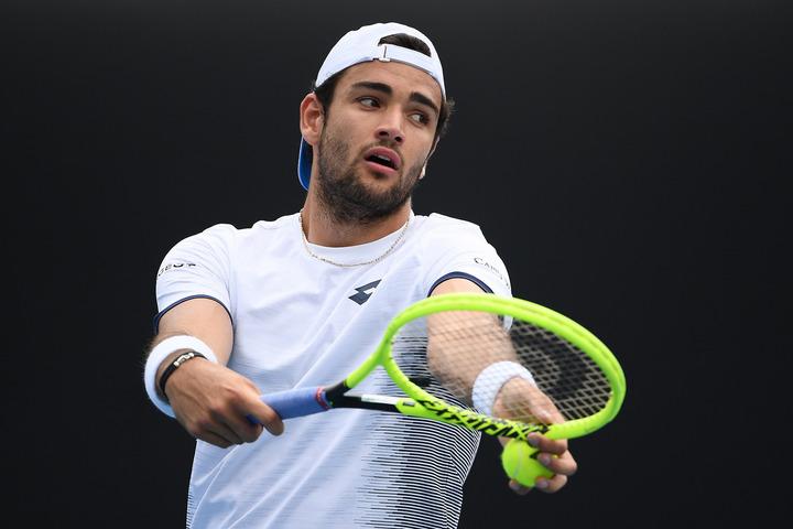 昨年の全米オープンで4強入りを果たしたベレッティーニが、フロリダで行なわれるエキジビションマッチに参加予定だ。(C)Getty Images