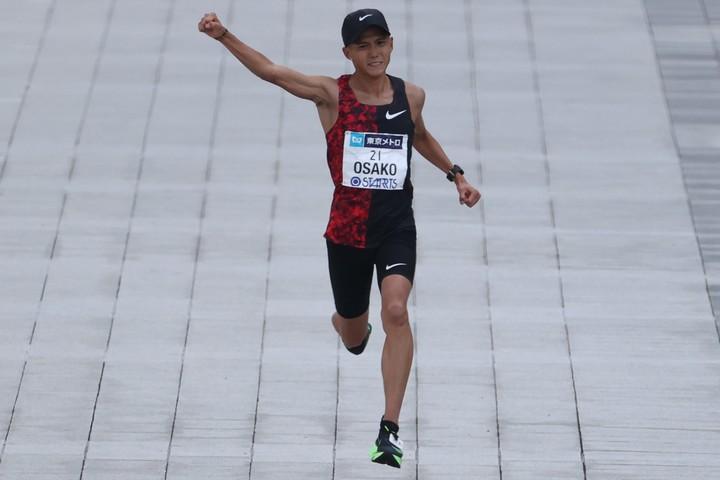 """マラソン日本記録保持者、大迫傑。コロナ禍で気づいた""""幸せ""""について語った。(C)Getty Images"""