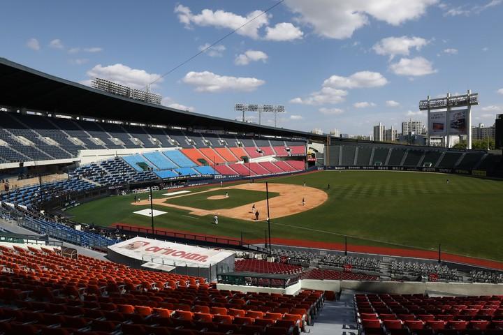 明日開幕の韓国野球。徹底した防護策が背景にあった。(C)Getty Images