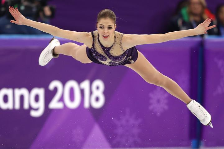 1月末に股関節の手術を終えたばかりだが、北京五輪に向けて意欲を見せているコストナー。(C)Getty Images