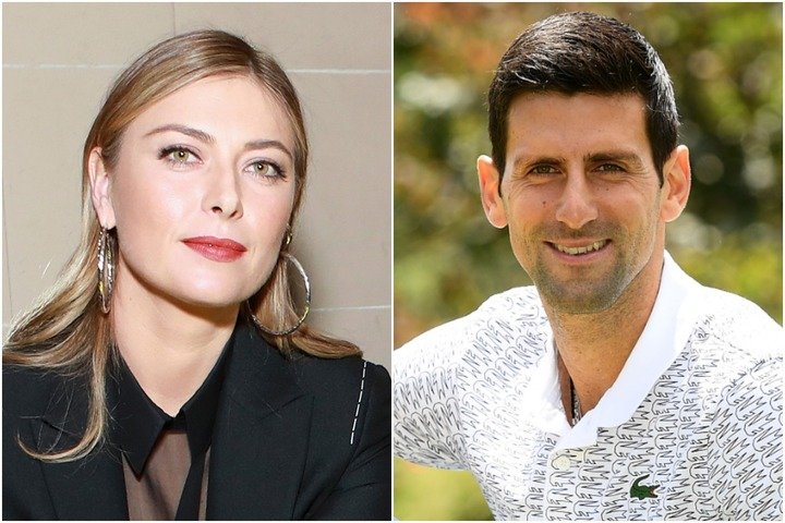 初対面時のエピソードから、テニスの話、そしてQ&Aに至るまで、男女テニスのビッグネーム2人が軽快なトークを繰り広げた。(C)Getty Images