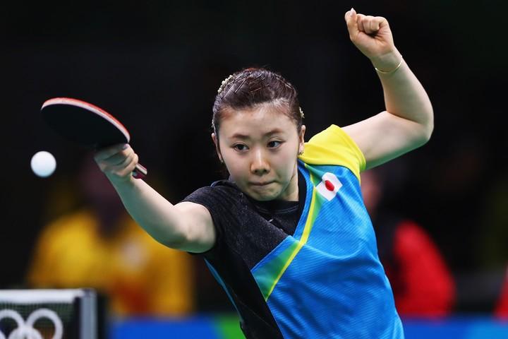 元卓球女子日本代表の福原愛さんが、着物姿を披露し、話題を呼んでいる。(C)Getty Images