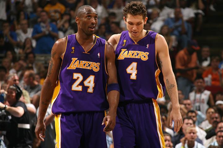 コビーと共闘経験のあるウォルトンは『ザ・ラストダンス』について、「コビーが別のチームでプレーしているみたいだった」と語った。(C)Getty Images