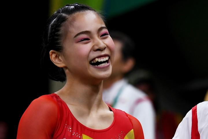 リオ五輪では、団体4位という48年ぶりの快挙に貢献した、杉本愛子。(C)Getty Images