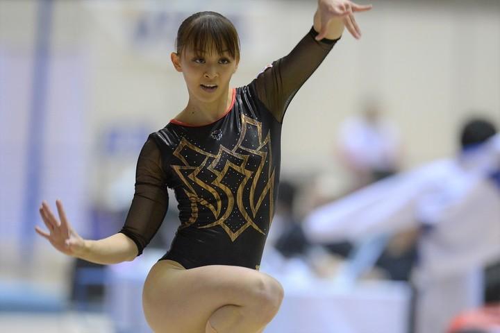 ロンドン五輪にも出場した、元体操日本代表の田中理恵さん。(C)Getty Images