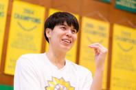 高校時代アメリカは遠い世界だったが、プロに入り2013年のアジアカップでMVPに輝いたことで、WNBAでのプレーを意識するようになったという。写真:田中研治