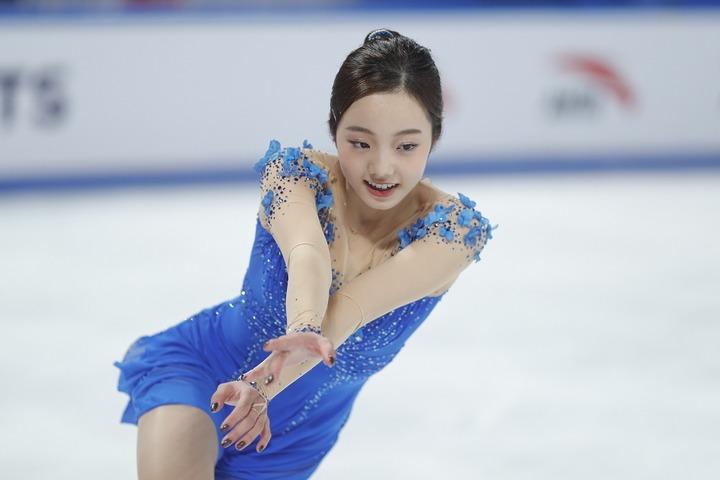 姉妹での楽しげな様子を日々紹介している本田真凜。(C)Getty Images