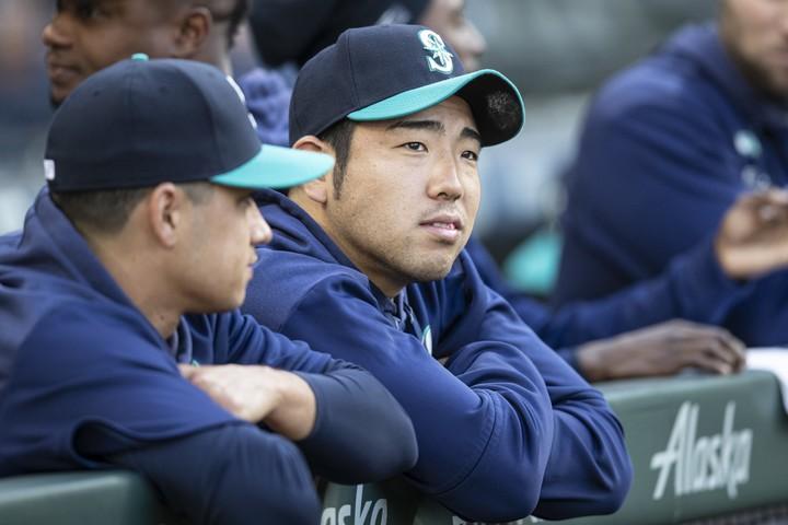 昨年、ようやくメジャー行きの夢がかなった菊池。「高校生が夢を語れる野球界になってほしい」と話す。(C)Getty Images