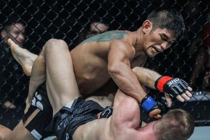 ミャンマーのアウンラ・ンサンがONEミドル級の王座を獲得した試合では、国内の瞬間最高視聴率87%を記録した。(C)ONE Championship