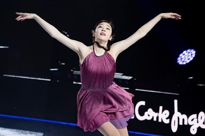 いまだ韓国国内で絶大な人気を誇るキム・ヨナさん。(C)Getty Images