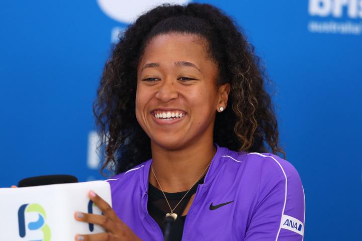 女子テニスで世界ランク10位の大坂。今回は、自宅で愛犬と戯れる動画を公開し、ファンを和ませた。(C)Getty Images