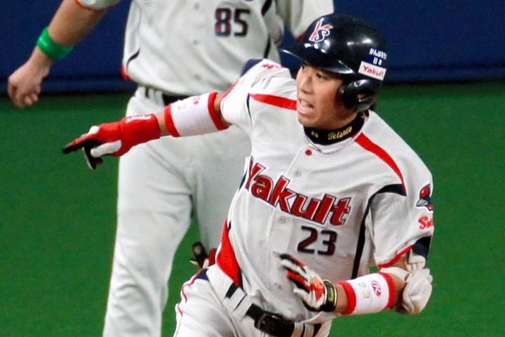 背番号「23」から「1」に変わる過程で、文字通り球界No.「1」プレーヤーへと進化を遂げた。提供:朝日新聞社