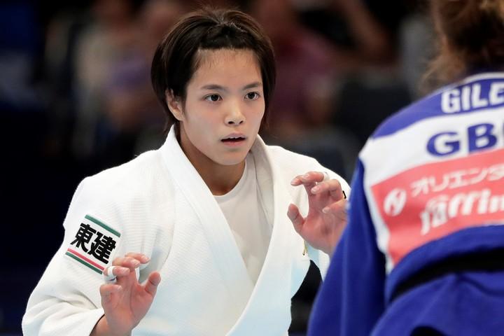 """東京五輪に内定している阿部が、キュートな""""トレーニングウエア姿""""を披露した。(C)Getty Images"""