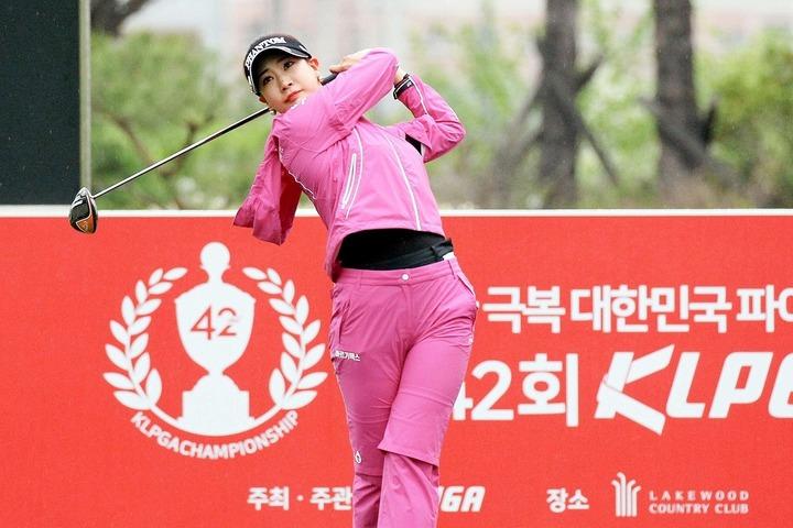 大会初日で106位タイと出遅れたユ・ヒョンジュ。金曜日以降の巻き返しに期待がかかる。(C)Getty Images